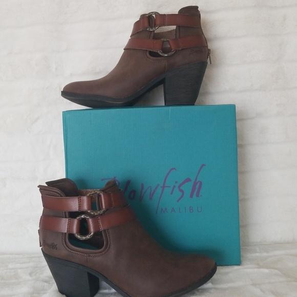 768a8151a23 Blowfish Shoes - Blowfish Sucraa Dyecut Booties